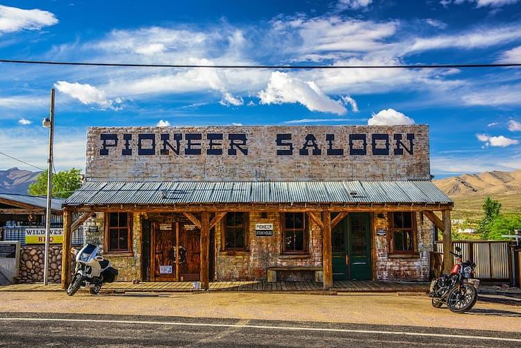 Outside of Pioneer Saloon